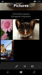 Microsoft Lumia 650 - Photos, vidéos, musique - Envoyer une photo via Bluetooth - Étape 6