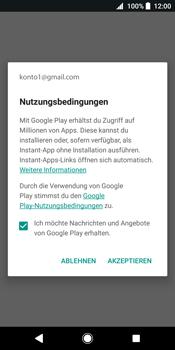 Sony Xperia XZ2 - Apps - Konto anlegen und einrichten - 17 / 19