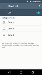 Sony Xperia XA - Bluetooth - Verbinden von Geräten - Schritt 6