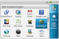 HTC A810e ChaCha - bluetooth - aanzetten - stap 3