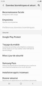 Samsung Galaxy J6 Plus - Appareil - configurer Localiser mon appareil - Étape 5