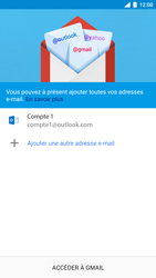 Nokia 8 - E-mail - 032c. Email wizard - Outlook - Étape 12