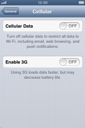 Apple iPhone 3GS - Internet and data roaming - Manual configuration - Step 5