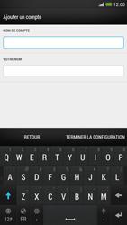 HTC One Max - E-mail - configuration manuelle - Étape 17