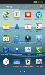 Samsung Galaxy S III Mini - Apps - Einrichten des App Stores - Schritt 3