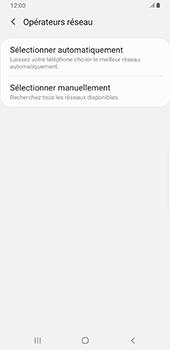 Samsung Galaxy Note9 - Android Pie - Réseau - Sélection manuelle du réseau - Étape 7