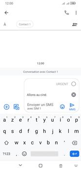Alcatel 1S (2020) - Contact, Appels, SMS/MMS - Envoyer un MMS - Étape 12