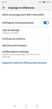 Huawei P20 - Android Pie - Prise en main - Comment activer un code SIM - Étape 6