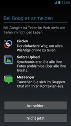 Alcatel One Touch Idol - Apps - Einrichten des App Stores - Schritt 16