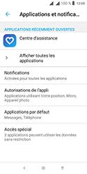 Alcatel 1 - Applications - Supprimer une application - Étape 5