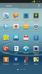 Samsung Galaxy S III - Internet et roaming de données - Navigation sur Internet - Étape 3