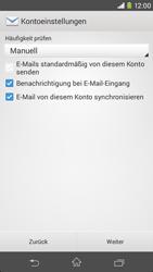 Sony Xperia M2 - E-Mail - Konto einrichten - Schritt 16