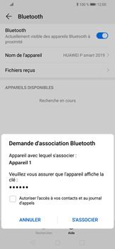 Huawei P Smart (2019) - Internet et connexion - Connexion avec un équipement multimédia via Bluetooth - Étape 8