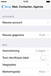 Apple iPhone 4S iOS 8 - E-mail - handmatig instellen (gmail) - Stap 4