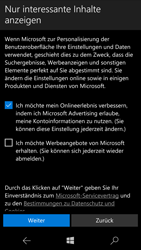 Microsoft Lumia 950 - Apps - Konto anlegen und einrichten - 17 / 20