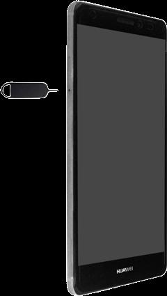 Huawei Mate S - SIM-Karte - Einlegen - Schritt 2