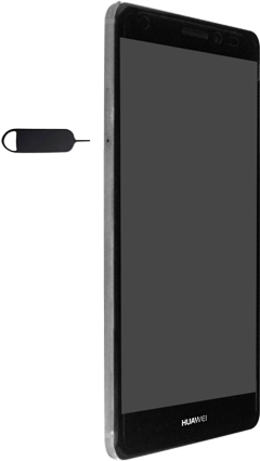 Huawei Mate S - SIM-Karte - Einlegen - 1 / 1