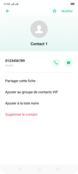 Oppo A9 2020 - Contact, Appels, SMS/MMS - Ajouter un contact - Étape 8