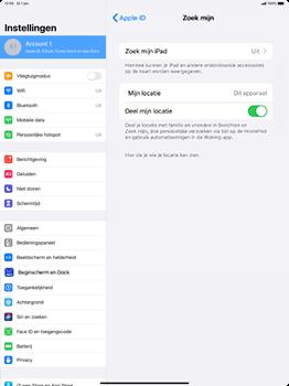 Apple ipad-pro-12-9-inch-2018-Model A1895-ipados-13 - Beveiliging en ouderlijk toezicht - Zoek mijn iPad inschakelen - Stap 8