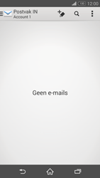 Sony D5803 Xperia Z3 Compact - E-mail - Account instellen (IMAP zonder SMTP-verificatie) - Stap 19