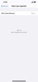 Apple iPhone XS Max - iOS 13 - Appareil - Mises à jour - Étape 7