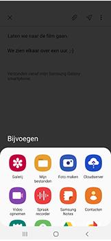 Samsung galaxy-a40-dual-sim-sm-a405fn - E-mail - Hoe te versturen - Stap 13