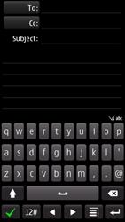 Nokia 700 - E-mail - Sending emails - Step 6