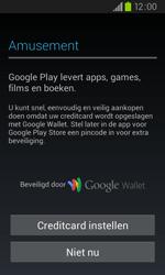 Samsung I9105P Galaxy S II Plus - apps - account instellen - stap 12