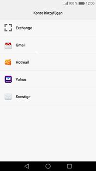 Huawei P9 Plus - E-Mail - Konto einrichten - Schritt 6