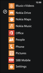 Nokia Lumia 800 / Lumia 900 - Mobile phone - Resetting to factory settings - Step 4