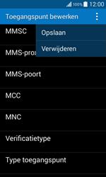 Samsung G355 Galaxy Core 2 - MMS - Handmatig instellen - Stap 15
