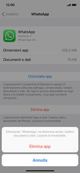 Apple iPhone XS - Applicazioni - Come disinstallare un