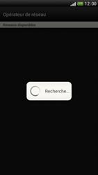 HTC One S - Réseau - Sélection manuelle du réseau - Étape 8