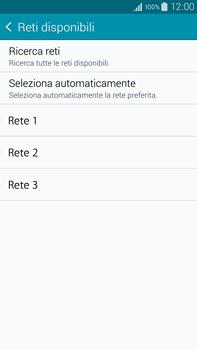 Samsung Galaxy Note 4 - Rete - Selezione manuale della rete - Fase 9
