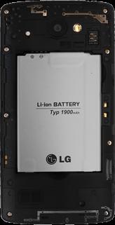 LG Leon 3G - SIM-Karte - Einlegen - 6 / 8