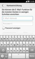 Huawei Ascend Y330 - E-Mail - Konto einrichten - Schritt 6