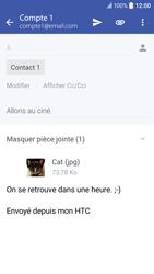 HTC 10 - E-mails - Envoyer un e-mail - Étape 16