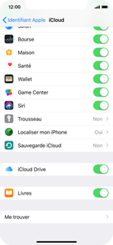 Apple iPhone XS - Données - créer une sauvegarde avec votre compte - Étape 9
