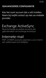 Nokia Lumia 635 - E-mail - Account instellen (POP3 zonder SMTP-verificatie) - Stap 10