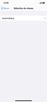 Apple iPhone X - iOS 14 - Réseau - Sélection manuelle du réseau - Étape 6