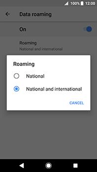 Sony Xperia XA2 Ultra - Internet - Disable data roaming - Step 8