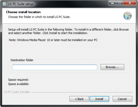 LG G3 - Software - Installing PC synchronisation software - Step 8