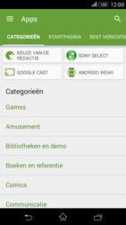 Sony E2003 Xperia E4G - apps - app store gebruiken - stap 6