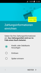 Samsung Galaxy S6 - Apps - Einrichten des App Stores - Schritt 15
