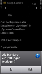 Nokia N8-00 - Internet - Automatische Konfiguration - Schritt 8