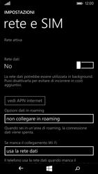 Microsoft Lumia 535 - Internet e roaming dati - Come verificare se la connessione dati è abilitata - Fase 5