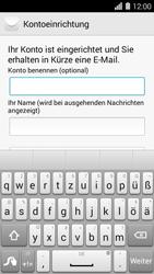 Huawei Ascend Y550 - E-Mail - Konto einrichten - Schritt 20
