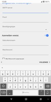 Sony Xperia XZ3 - E-mail - Handmatig instellen - Stap 17