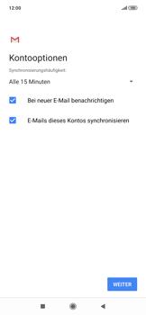 Xiaomi RedMi Note 7 - E-Mail - Manuelle Konfiguration - Schritt 19