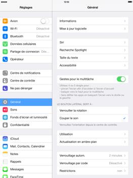 Apple iPad mini iOS 7 - Logiciels - Installation de mises à jour - Étape 5
